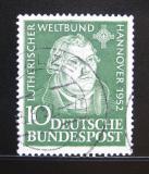 Poštovní známka Německo 1952 Martin Luther Mi# 149