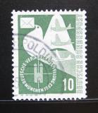 Poštovní známka Německo 1953 Poštovní holub Mi# 168