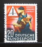 Poštovní známka Německo 1953 Bezpečnost silničního provozu Mi# 162