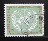Poštovní známka Německo 1955 OSN Mi# 221