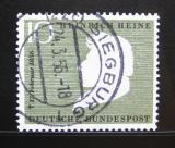 Poštovní známka Německo 1956 Heinrich Heine Mi# 229