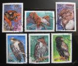 Poštovní známky Tanzánie 1994 Ptáci Mi# 1854-59