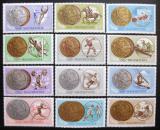 Poštovní známky Maďarsko 1965 LOH Medaile Mi# 2089-2100