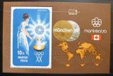 Poštovní známka Maďarsko 1973 Olympijské hry Mi# Block 96
