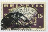 Poštovní známka Švýcarsko 1919 Začátek míru Mi# 148