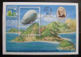 Poštovní známka Svatý Tomáš 1979 Vzducholoď Mi# Block 36 Kat 25€