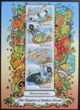 Poštovní známky Maledivy 2017 Motýli Mi# 6773-76
