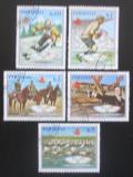 Poštovní známky Paraguay 1989 LOH Barcelona Mi# 4275-79