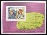 Poštovní známka Niger 1976 Americká revoluce Karton Mi# Block 13B