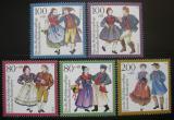 Poštovní známky Německo 1993 Lidové kroje Mi# 1696-1700