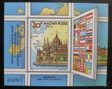 Poštovní známka Maďarsko 1983 Meziparlamentní unie Mi# Block 163
