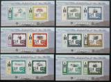 Poštovní známky Mongolsko 2006 Evropa CEPT Mi# Bl 355-60