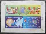 Poštovní známka Bosna a Hercegovina 2005 Výročí Evropa CEPT Mi# Bl 27 B Kat 60€