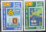 Poštovní známky Srí Lanka 2006 Evropa CEPT Mi# 1525-26