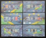 Poštovní známky Šalamounovy ostrovy 2005 Evropa Mi# Block 84-89