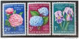 Poštovní známky Lucembursko 1959 Květiny Mi# 606-08