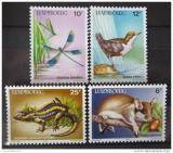 Poštovní známky Lucembursko 1987 Ochrana přírody Mi# 1168-71