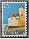 Poštovní známka Lichtenštejnsko 1986 Hrad Vaduz Mi# 898