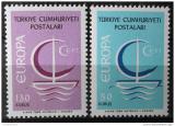 Poštovní známky Turecko 1966 Evropa CEPT Mi# 2018-19