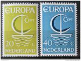 Poštovní známky Nizozemí 1966 Evropa CEPT Mi# 864-65
