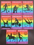 Poštovní známky Rwanda 1976 LOH Montreal Mi# 823-30