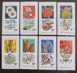 Poštovní známky Rwanda 1975 Zemědělské plodiny Mi# 691-98