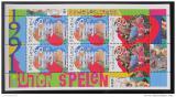 Poštovní známka Nizozemí 1991 Hrající si děti Mi# Bl 35