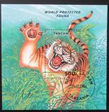 Poštovní známka Tanzánie 1994 Tygr Mi# Block 251