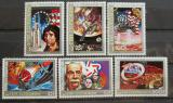 Poštovní známky Komory 1976 Americká revoluce Mi# 305-10