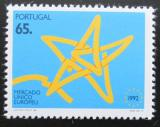 Poštovní známka Portugalsko 1992 Jednotný evropský trh Mi# 1946