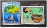Poštovní známky Jugoslávie 2000 Ochrana přírody Mi# 2973-74