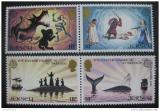 Poštovní známky Jersey 1981 Evropa, legendy Mi# 253-56