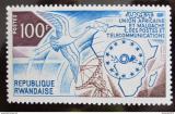 Poštovní známka Rwanda 1973 Africká poštovní unie Mi# 586