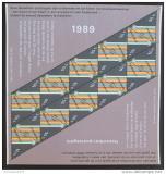 Poštovní známky Nizozemí 1989 Vánoce Mi# 1374 Bogen