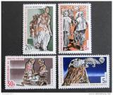 Poštovní známky Horní Volta 1970 Tanečníci Mi# 289-92