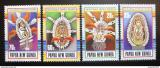 Poštovní známky Papua Nová Guinea 1990 Masky Mi# 616-19