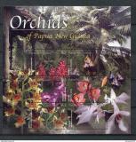 Poštovní známky Papua Nová Guinea2002 Orchideje Mi# 948-53