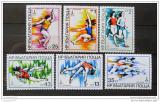 Poštovní známky Bulharsko 1979 LOH Moskva Mi# 2832-37