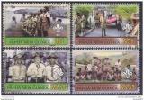 Poštovní známky Papua Nová Guinea 2007 Skauting Mi# 1233-36