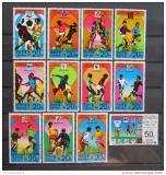 Poštovní známky KLDR 1978 Historie šampionátů Mi# 1733-44