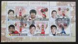 Poštovní známky Guinea-Bissau 2009 Vzpírání Mi# 4011-16