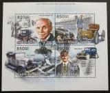 Poštovní známky Guinea-Bissau 2013 Auta Ford Mi# 6457-60