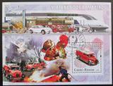 Poštovní známka Guinea-Bissau 2006 Hasiči Mi# 3380