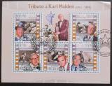 Poštovní známky Guinea-Bissau 2009 Karl Malden Mi# 4438-42 Kat 13€