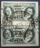 Poštovní známky Brazílie 1942 Prezidenti přetisk, pár Mi# 628