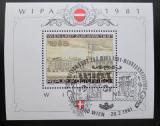 Poštovní známka Rakousko 1981 WIPA výstava Mi# Block 5