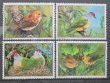 Poštovní známky Cookovy ostrovy 1989 Ptáci, WWF Mi# 1278-81