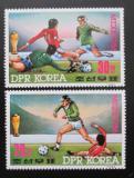 Poštovní známky KLDR 1985 MS ve fotbale Mi# 2709-10