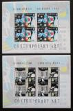Poštovní známky Gibraltar 1993 Evropa CEPT, umění Mi# 654-57 Kat 35€