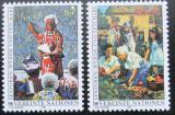 Poštovní známky OSN Vídeň 1993 Důstojné stáří Mi# 141-42